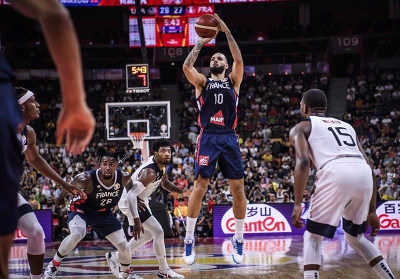 جام جهانی بسکتبال، آمریکا مغلوب فرانسه شد، قهرمان به نیمه نهایی هم نرسید