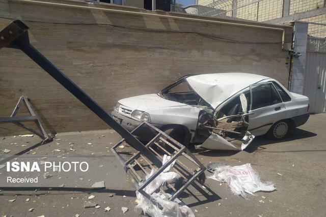 سقوط بالابر و مصدومیت کارگران ساختمانی در زنجان