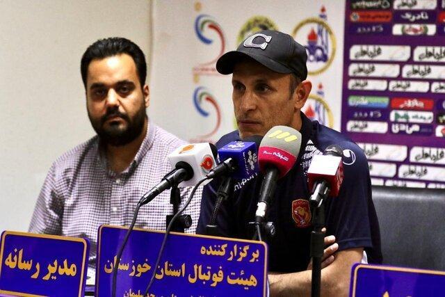 گل محمدی: از بازی بازیکنانم راضی نیستم