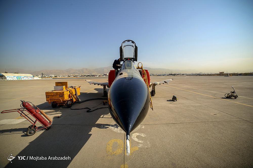 آسمان امنِ کشور با فانتوم های نیروی هوایی ارتش