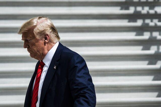 نظر 63 درصد از آمریکایی ها درباره رفتار ترامپ منفی است