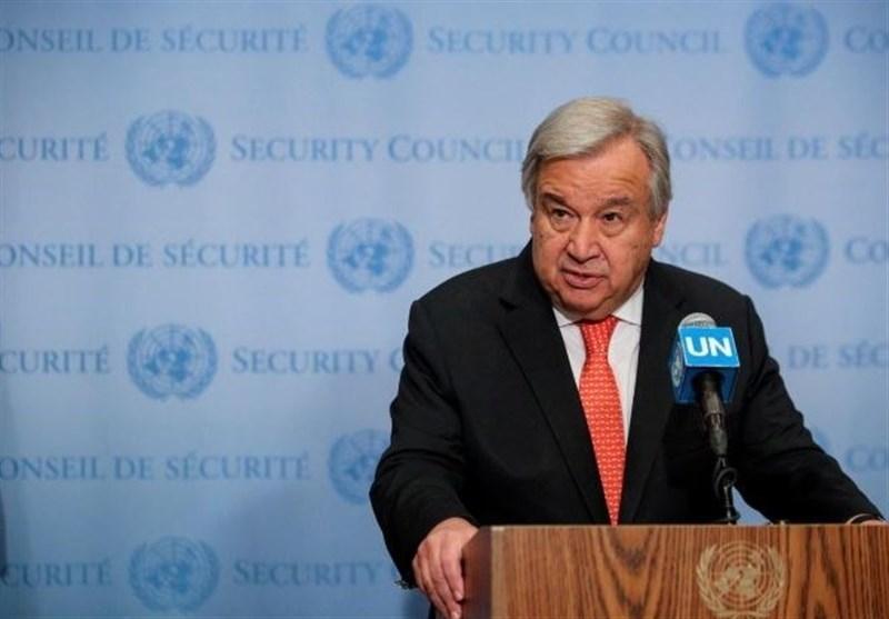 دبیرکل سازمان ملل خواهان خویشتنداری طرف ها در شمال شرقی سوریه شد