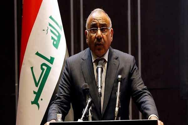 جدیدترین موضع گیری عادل عبدالمهدی درباره تحولات عراق