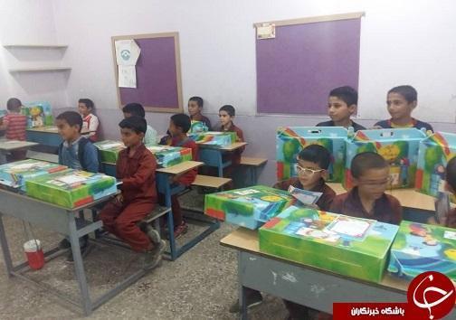 اهدا 400 بسته تحصیلی به دانش آموزان نیازمند رامشیر