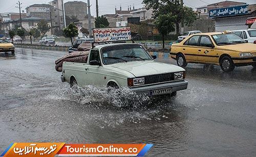 هشدار سازمان هواشناسی نسبت به تشدید بارش ها