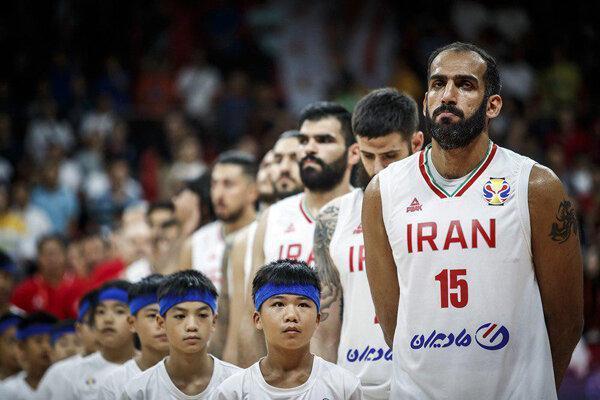 دیدار تیم ملی بسکتبال با ژاپن پیش از المپیک 2020