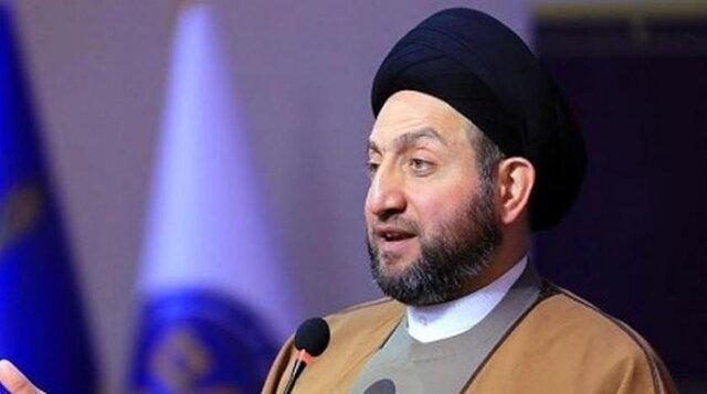 عمار حکیم: تلاش های کنونی برای اصلاحات در عراق ثمره جانفشانی های تظاهرکنندگان است