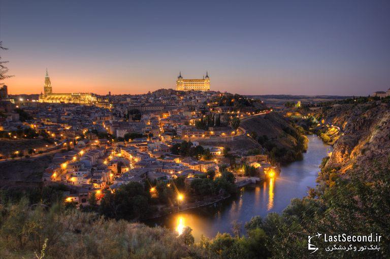 شهر زیبای تولدو در اسپانیا