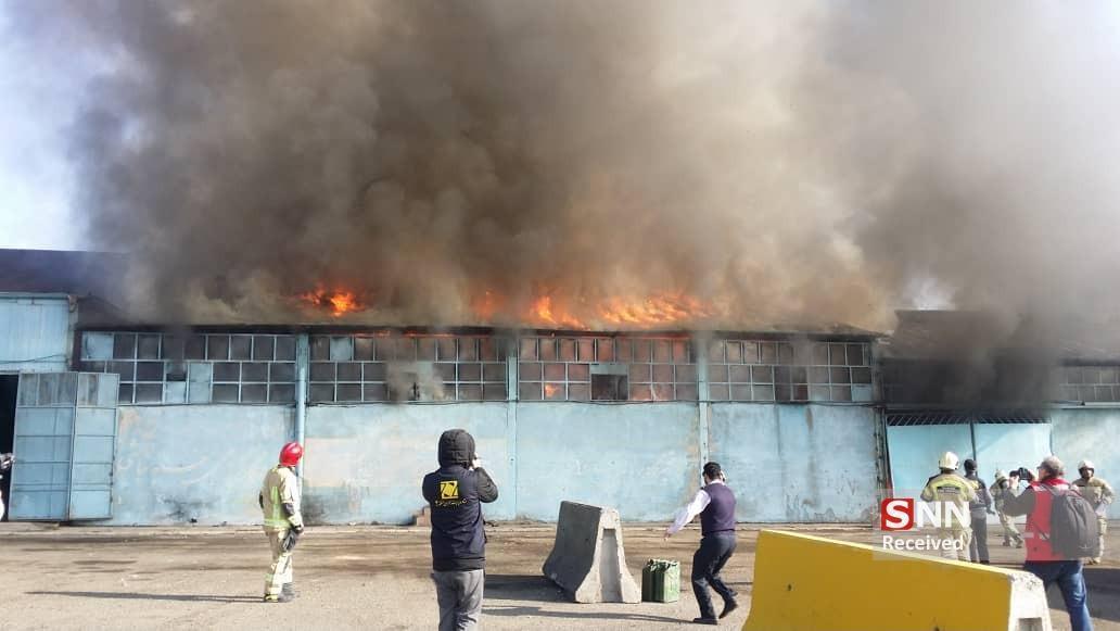 مانور عملیاتی آتش نشانی تهران برگزار گردید