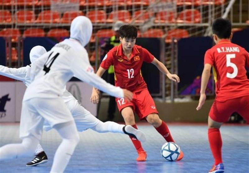 فوتسال بانوان قهرمانی آسیا، ژاپن حریف ایران شد
