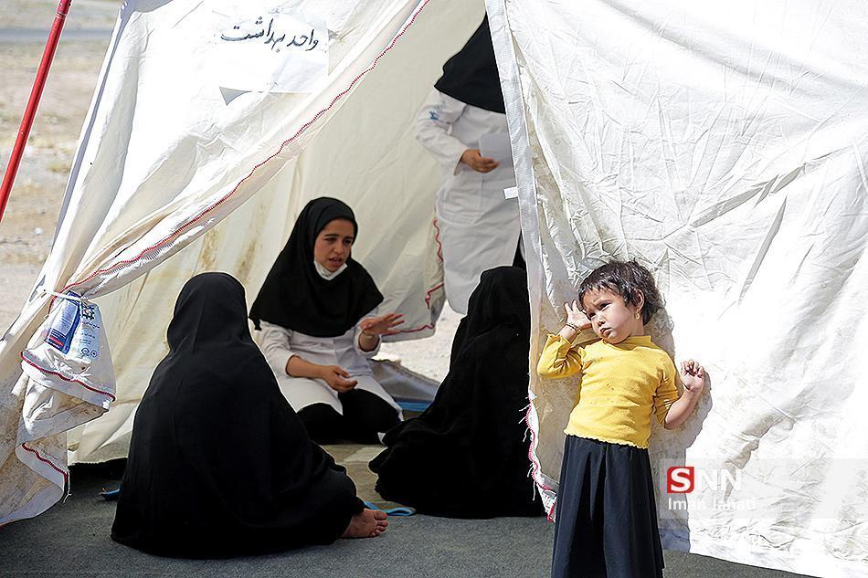 اردوی بهداشتی و درمانی در ریگان استان کرمان برگزار می شود