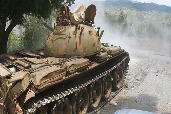 وقوع درگیری های شدید میان ارتش سوریه و گروه های تروریستی
