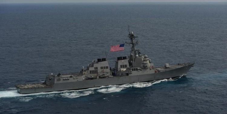 اعزام 4 ناو جنگی آمریکا برای مقابله با نفتکش های ایران