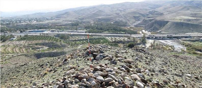 طرح لوله گذاری در عرصه گورستان تاریخی حاجی آباد مجوز ندارد