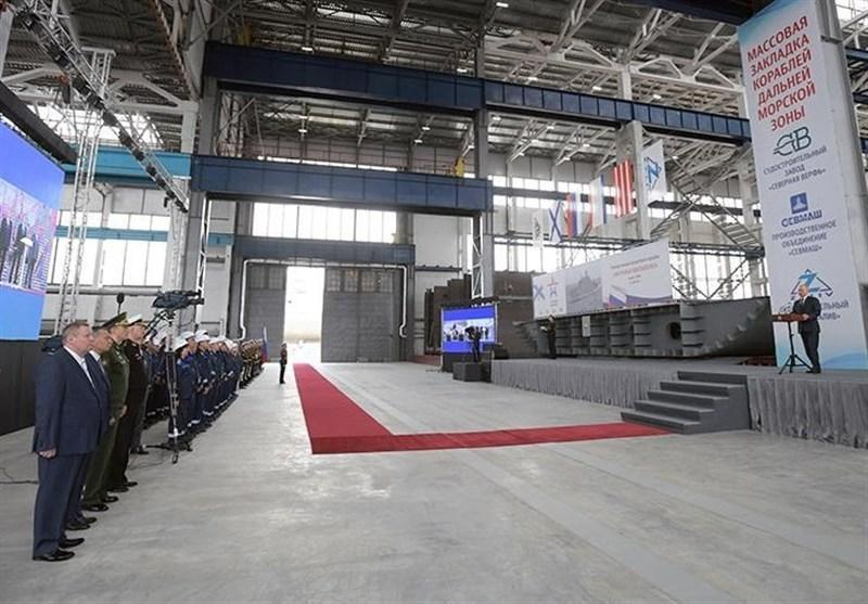 تأکید پوتین بر لزوم استفاده از کشتی های مدرن بیشتر در ناوگان دریایی روسیه