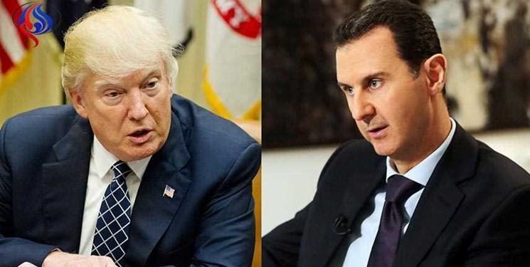 نامه نگاری ترامپ با رئیس جمهور سوریه برای مذاکره مستقیم