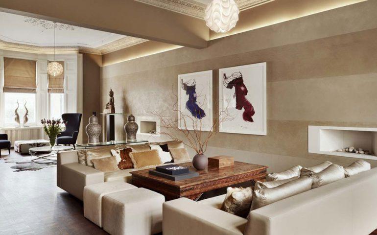 طراحی اتاق نشیمن به سبک مینیمالیسم