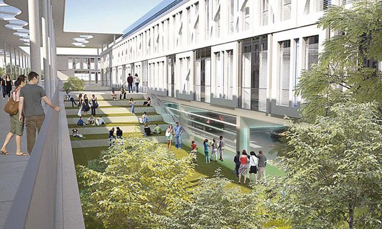 بازسازی دانشگاه
