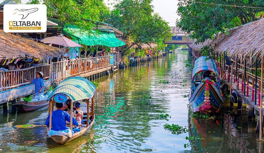 بازار شناور بانکوک، بیزینس بر روی آب
