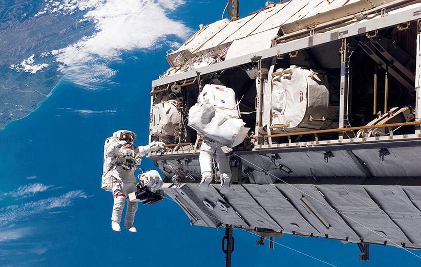 20 سال از شروع زندگی انسانی در ایستگاه فضایی بین المللی گذشت