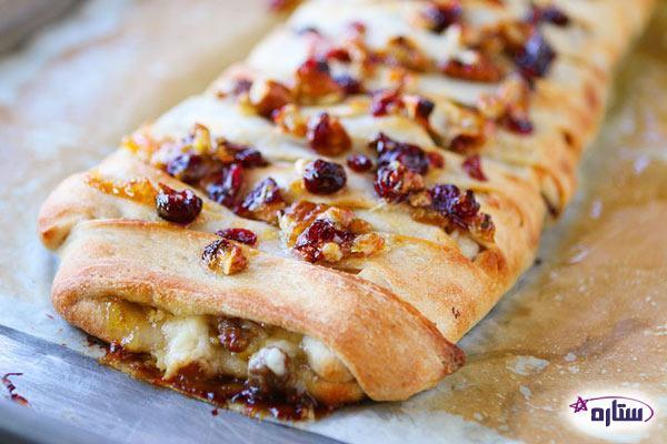 طرز تهیه نان مارمالادی