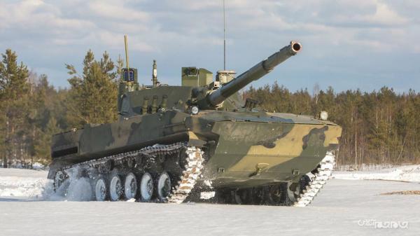 تانک Sprut-SDM1؛ پرنده آبی خاکی و سبک روسیه که تا 7 ساعت در آب شنا می نماید
