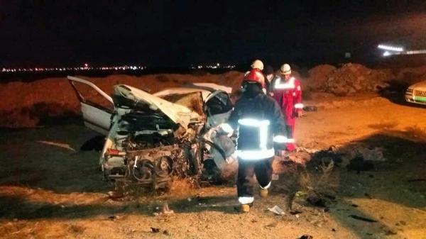 خبرنگاران 2 نوجوان به علت واژگونی خودرو در قروه جان باختند
