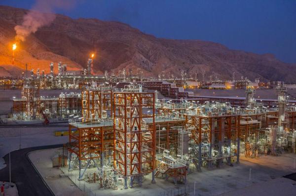 طرح گازرسانی به پالایشگاه گاز پارسیان سپهر به بهره برداری رسید