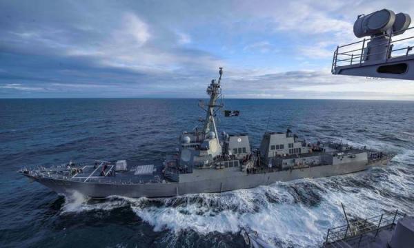 ناوگروه آمریکا وارد دریای جنوبی چین شد