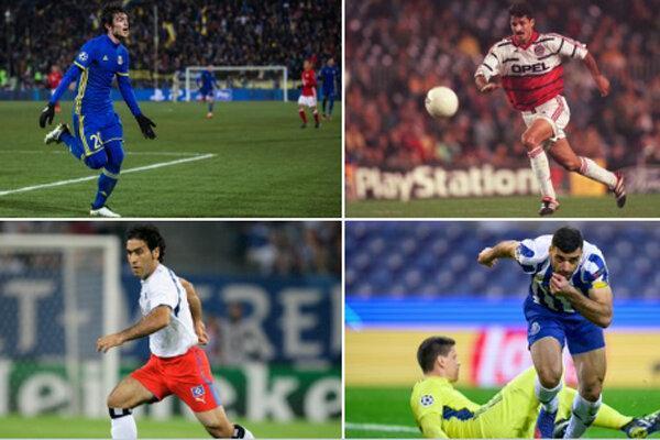 اسامی گلزنان ایران در لیگ قهرمانان اروپا