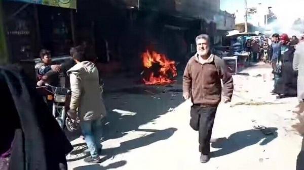 کشته شدن 3 غیر نظامی بر اثر انفجار در شرق سوریه