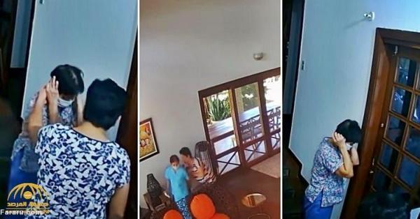 (ویدئو) برکناری خانم سفیر به علت بدرفتاری با خدمتکار