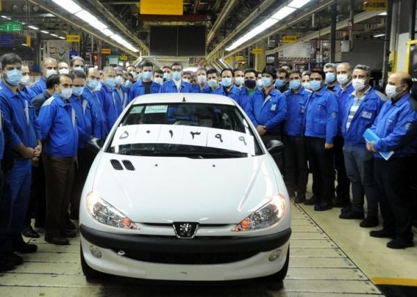تولید ایران خودرو از نیم میلیون دستگاه گذشت