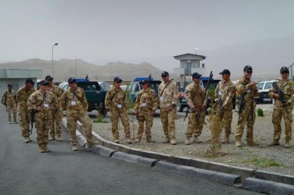 بیش از 9500 سرباز خارجی در افغانستان مستقرند