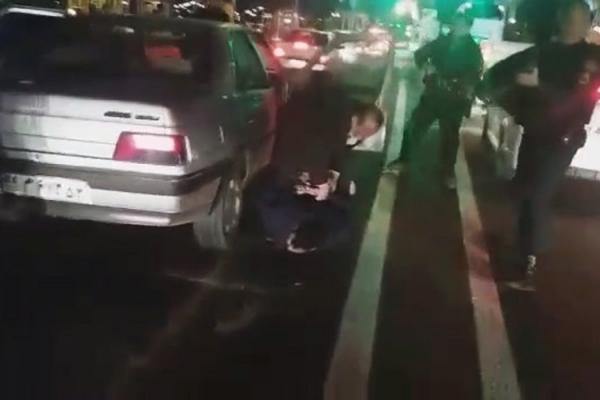 (ویدئو) لحظه دستگیری گنده لات های شمال