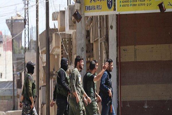 درگیری نیروهای آسایش با پلیس نظامی روسیه در قامشلی سوریه