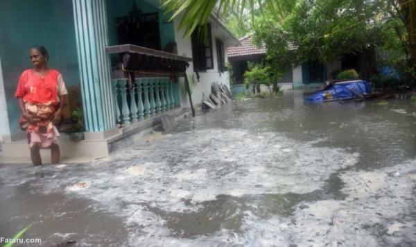 (تصاویر) طوفان در هند