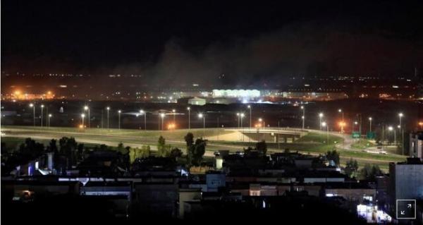 گروه عراقی سرایا اولیاء الدم مسئولیت حمله به فرودگاه اربیل را پذیرفت