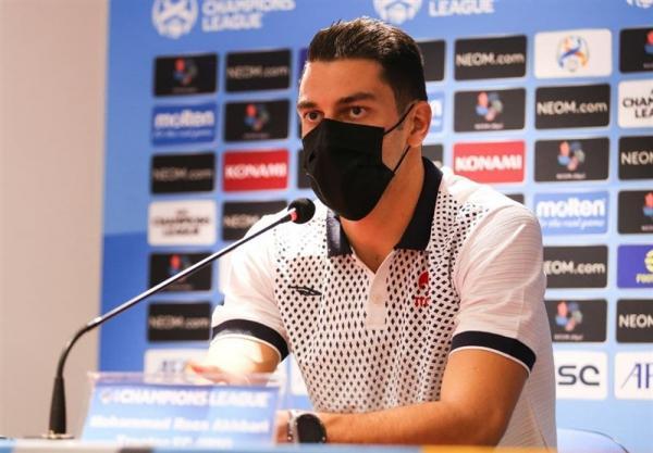 اخباری: با تیمی جوان به لیگ قهرمانان آسیا آمدیم، از اعتبار فوتبال مان دفاع می کنیم