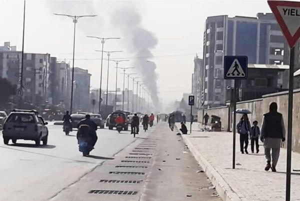حمله راکتی به کابل